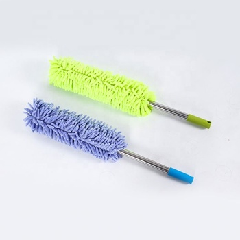 Automatic car wash brushes