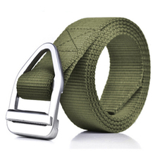 Outdoor sports military nylon web Canvas fabric belts for men luxury