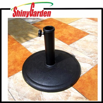 Hot Outdoor Resin Round Umbrella Base