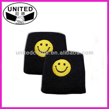 Custom hand sweatband for promotional gifts