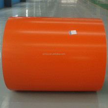 CS-B 0.42mm Plastic Film PPGI/Color Coated Galvanized Steel Plate/Sheet/Coil Zinc coating building material