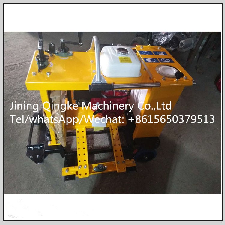 Concrete Road Circular Cutting Off Saw Machine With Strong bearing capacity