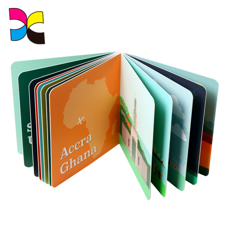 China Custom Journal Coloring Child A3 Hardcover Book Printing