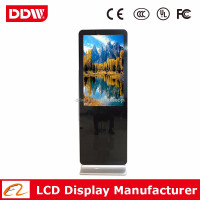 "China wholesale 55"" black color LCD digital poster india with LG IPS panel DDW-AD5501SN"