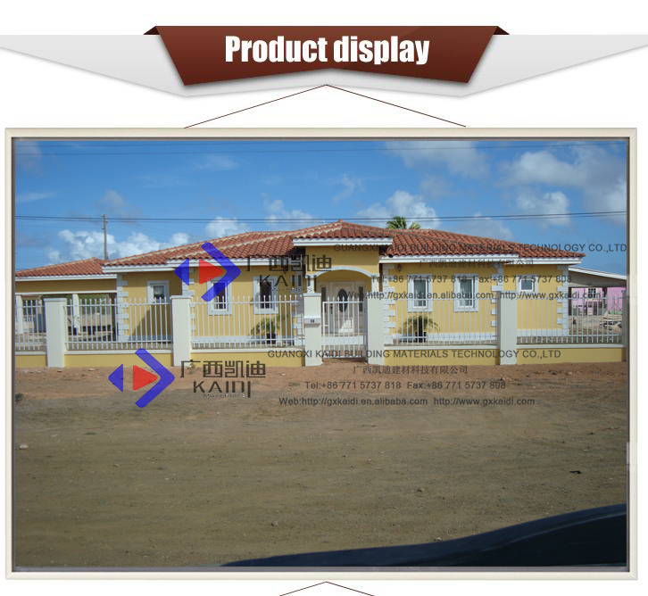 Caribbean Island Style Rustproof Security Panel Fence