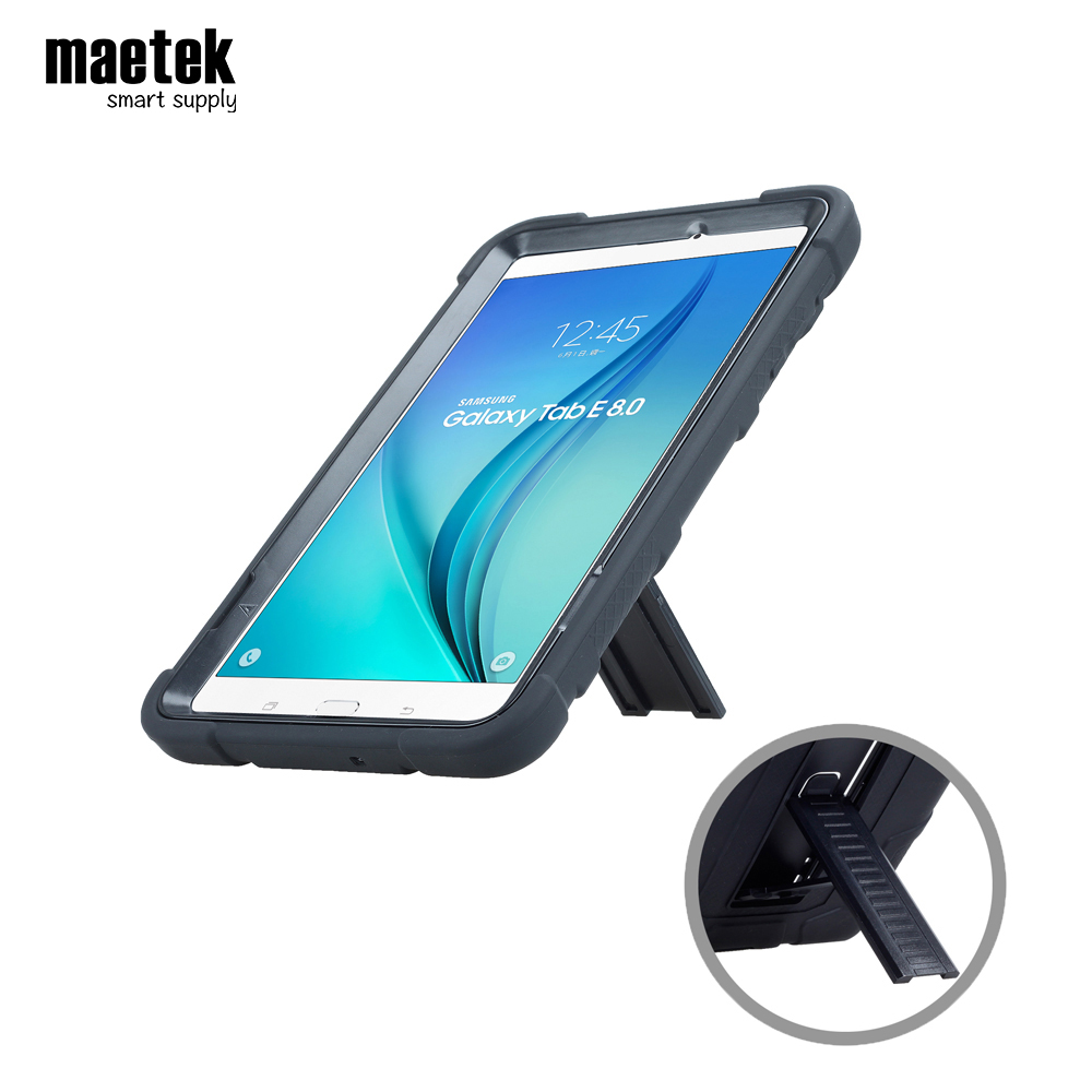 Custom Anti-shock drop-proof stand 7 8 9.6 9.7 10.5 protect hybrid pc silicone Tablet Case Cover for fire For Samsung for <strong>ipad</strong>