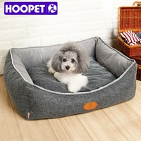 Hoopet New Arrival Bolster Pet Bed With Removable Cushion for Amazon