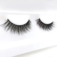Hollyren faux mink eyelashes with packaging box custom & wholesale false 3d silk eyelashes private label