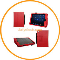 for iPad Mini Case PU Leather Folio Stand Cover with Stylus Holder from Dailyetech