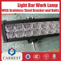 High Quality New Work Lamp Car Led Light Bar With Stainless Steel Bracket And Bolts