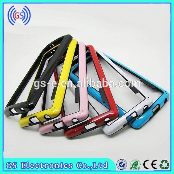 New Dual Color 2 IN 1 TPU PC Bumper Cover For Iphone 3gs Bumper Case