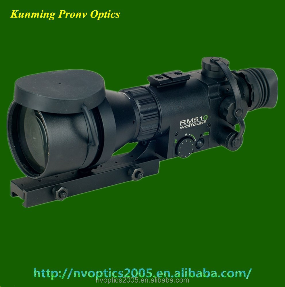 Gen1+ night vision rifle scopes with 5x magnification