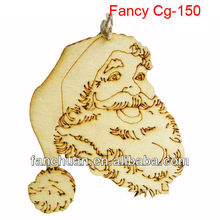 fashion christmas decorative wood carving