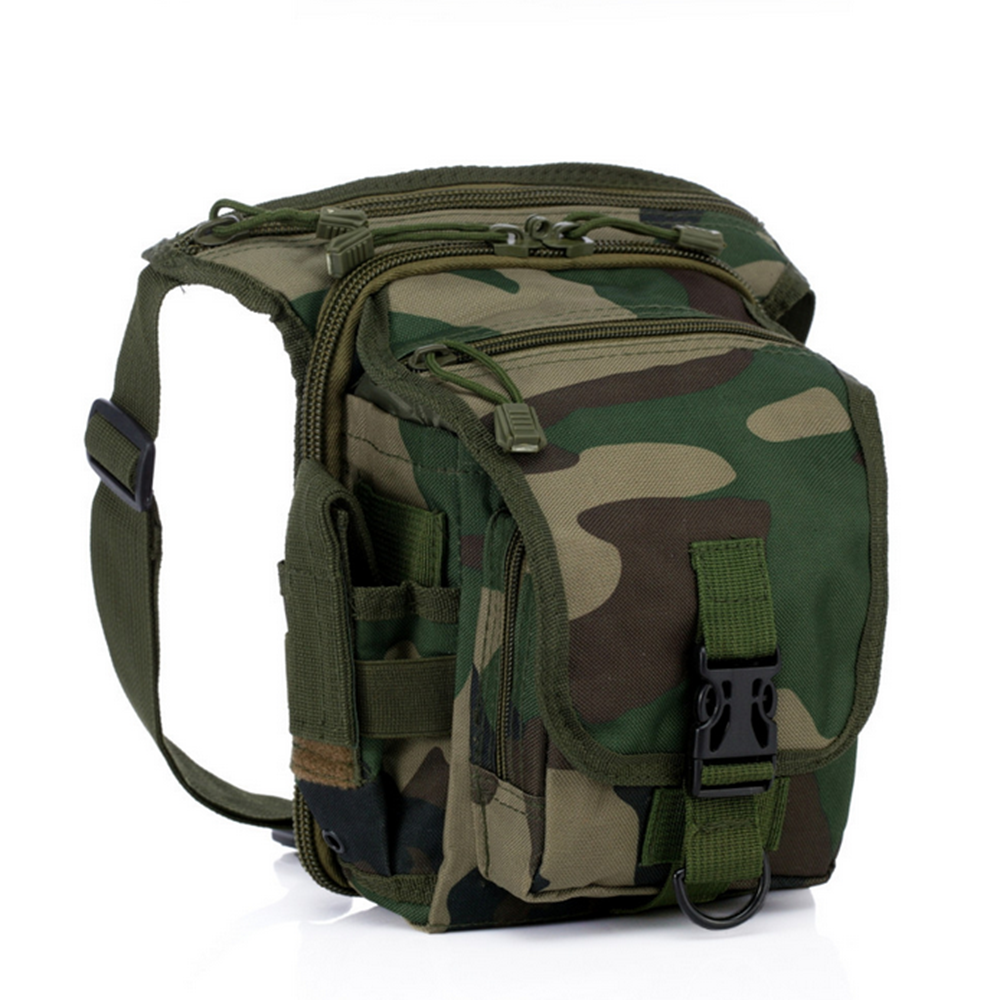 600D Camo Solid Color Tactical Leg Bag Water Resistant Wholesale