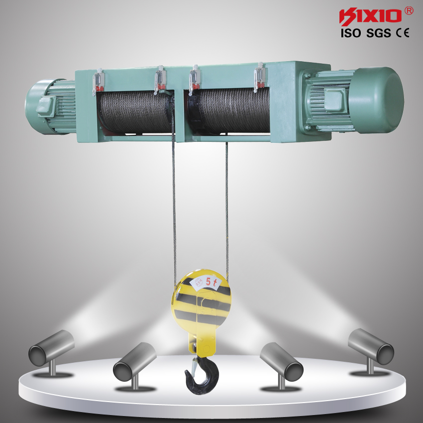 Overhead Crane 500kg : Kg small overhead crane electric wire rope hoist