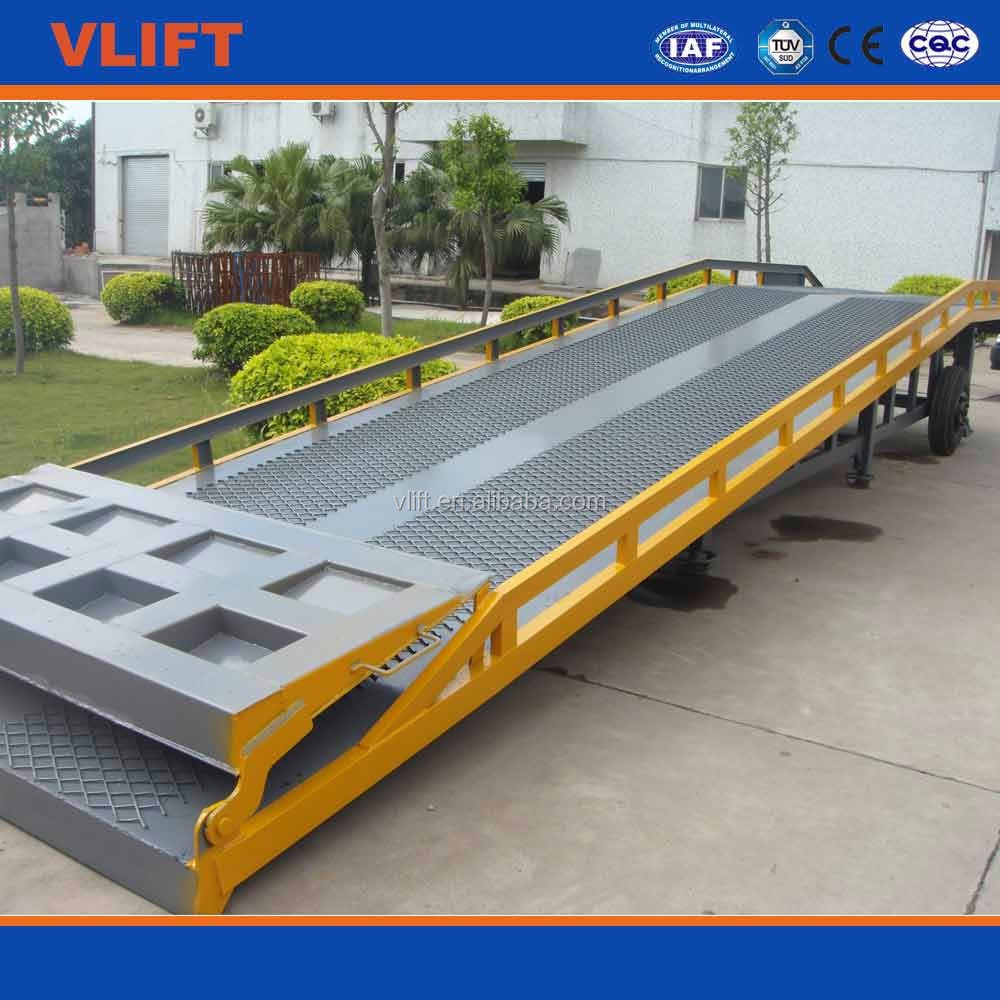 10 ton Hydraulic Mobile Container Ramp