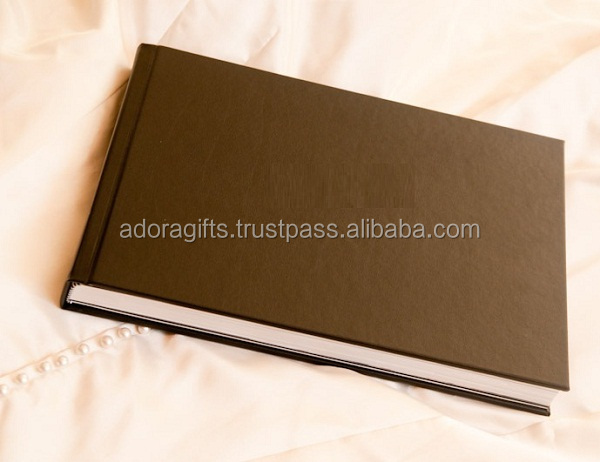 photo albums for professional photographers / hard wooden wedding photo album covers