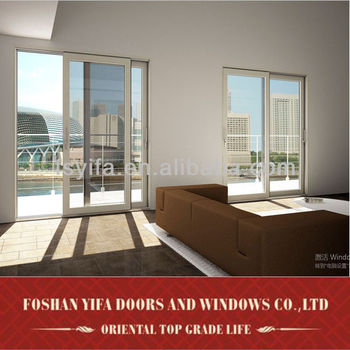 Standard size aluminum doors and windows designs from china