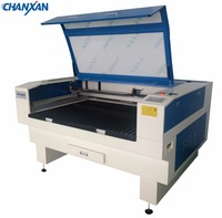CNC laser 150W two heads Cardboard laser cutting machine price from Chanxan Laser