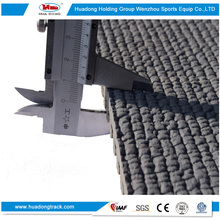 Stadium material synthetic rubber running track surface