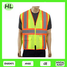 Class 3 High reflective safety vest reflecitve vest meet ANSI EN20471