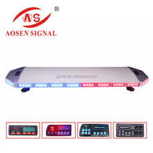 TBD-6E915 4D Emark ECE E4 R65 approved LED vehicles High power led red and blue warning Lightbar