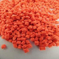 factory supply virgin PE/PP/PET/ABS fluorescent bright yellow color pellets masterbatch