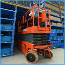 High quality auto scissor lift, reliable scissor lift hire, scissor lift equipment of made in china