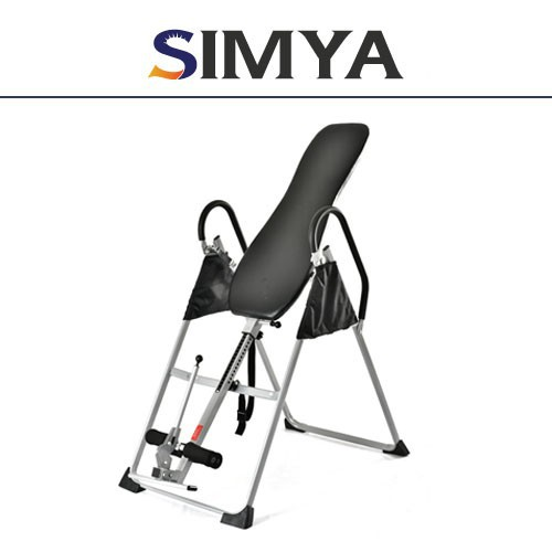 black painted Inversion Table exercise ab table body training equipment home use gym fitness equipment Inversion Table