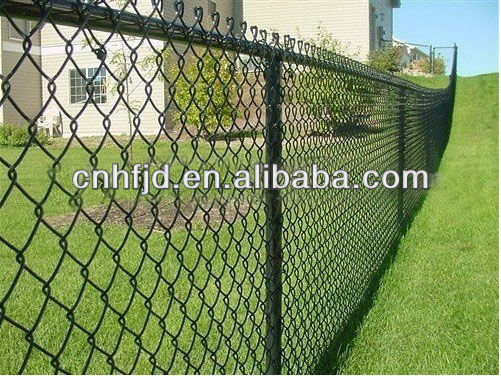 PVC coated /galvanied Chain link fence