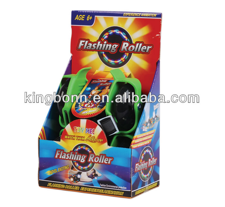 EN13899 Approval Flashing Roller wheels skates For Kids