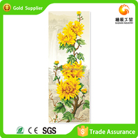 Advanced machines home wall decoration 5d diamond draw daisies flower oil painting
