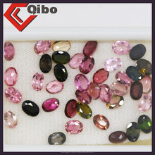 mix Tourmaline Loose Natural Gemstone oval Rubellite
