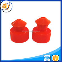new design accept customer design 24 410 plastic water cap,pull push closure cap ,