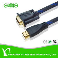Wholesale HDMI to VGA Cable for Computer Mac