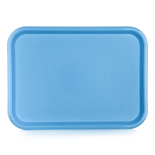 Bulk decorative plastic blue charger wedding cheese plates