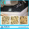 Butterfly green polished kitchen top granite