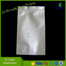 3 side seal stand up plastic bag food packaging zipper bag for meat,pork,beef,sea food