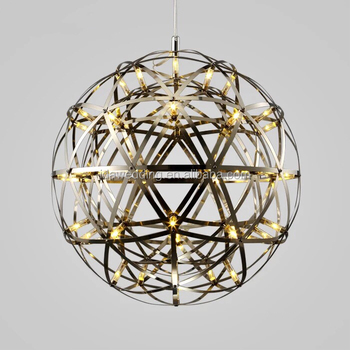 decorative modern crystal led ceiling light ball