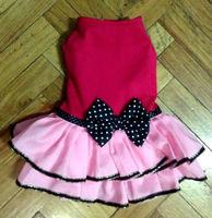 Formal Casual Pink Tutu Dress Gown for Pet Dog Clothes Supplier from Philippines- Wholesale