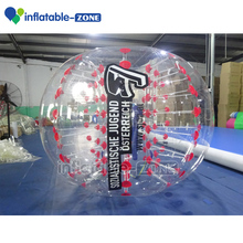 Top Quality PVC/TPU body bumper ball, body game soccer bubble, ,durable inflatable bubble football