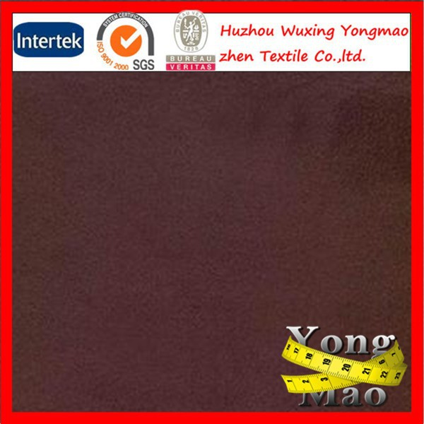 suede fabric for garment ,doe suede fabric imitation