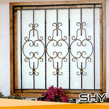 Home decor iron windows designs anti theft window