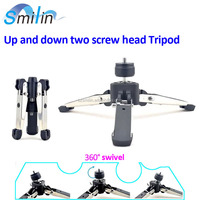 Patent super-stable foldable flipped Selfie Tripod Holder for projector camera lamp flashlight