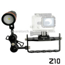 Aluminum Gopro Mount,Gopro TrayZ10 + Diving Video Light W17V (CE,RoHS)
