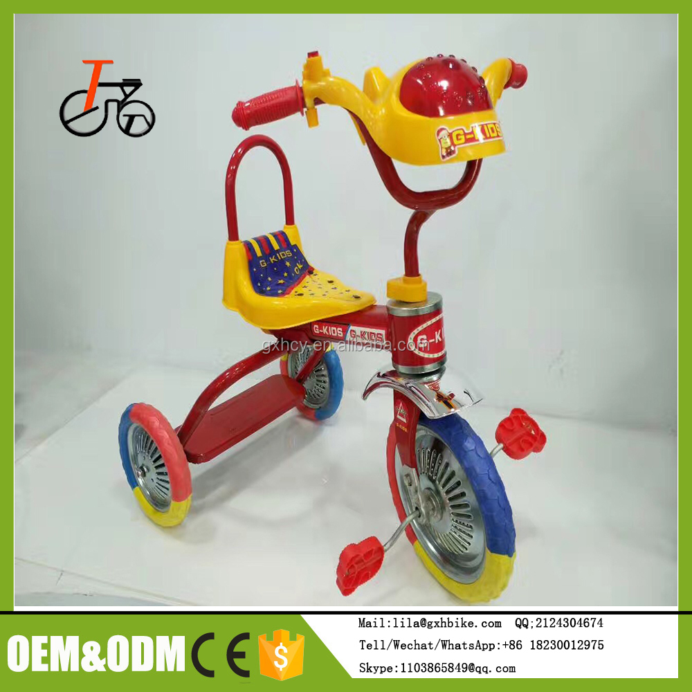Good quality kids/baby tricycles ride on three wheels bike toys wholesale exporter 3 wheel tricycle OEM manufacturing prices