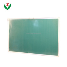 Aluminum frame magnetic green school blackboard / mathematics / school teaching equipment