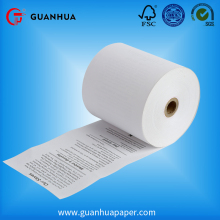 Superior quality heat transfers pre printed thermal ncr paper rolls
