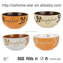 hand-painted japanese microwavable ceramic bowl