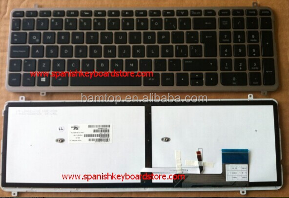 Manufacturer Factory For Hp Laptop Backlit Keyboard M6 Black Color
